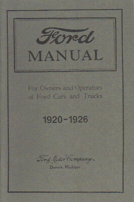 ford model  owners manual ebay