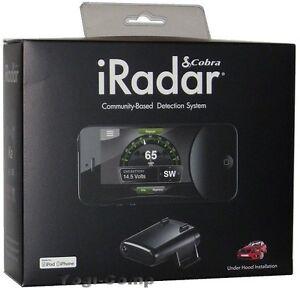 Details about Cobra iRadar S120R Laser Radar Safety Camera Detector for  iPhone & iPod