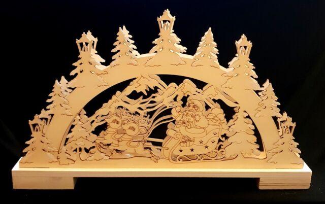 Weihnachtsdeko Schwibbogen.3d Holz Lichterbogen Schwibbogen Winterlandschaft Weihnachten Weihnachtsdeko Neu