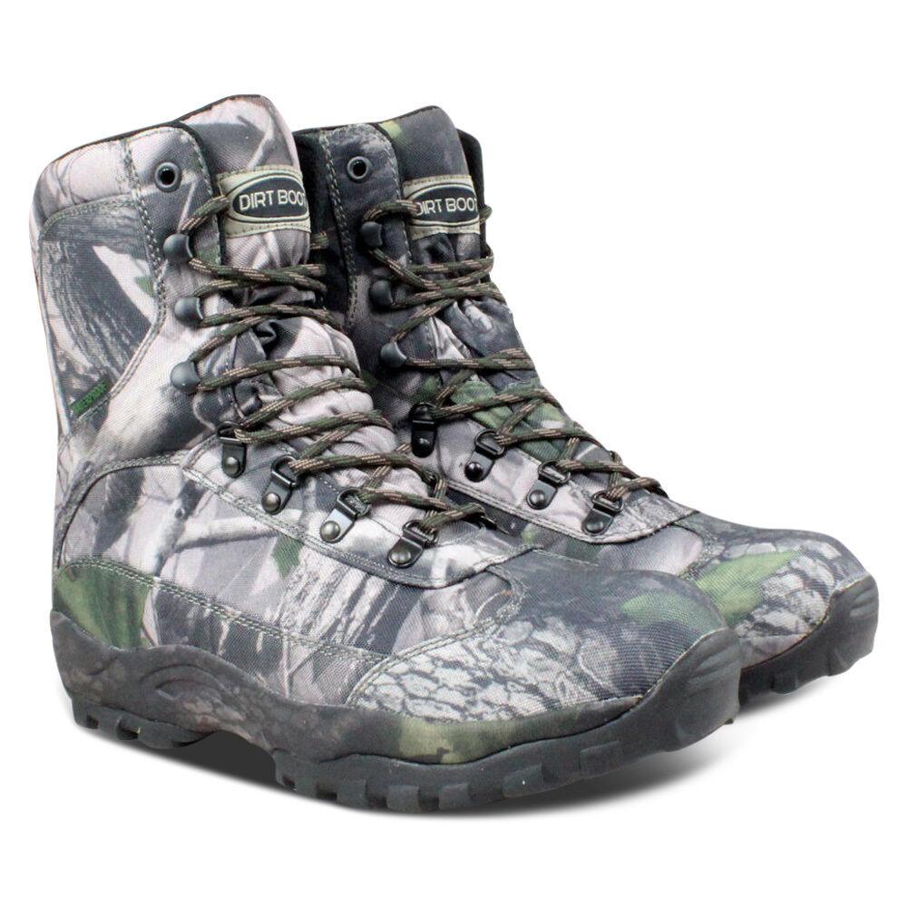 Dirt Boot® Muck Waterproof Hiking Ankle Muck Boot® Stiefel Hunt Camo eca5d2