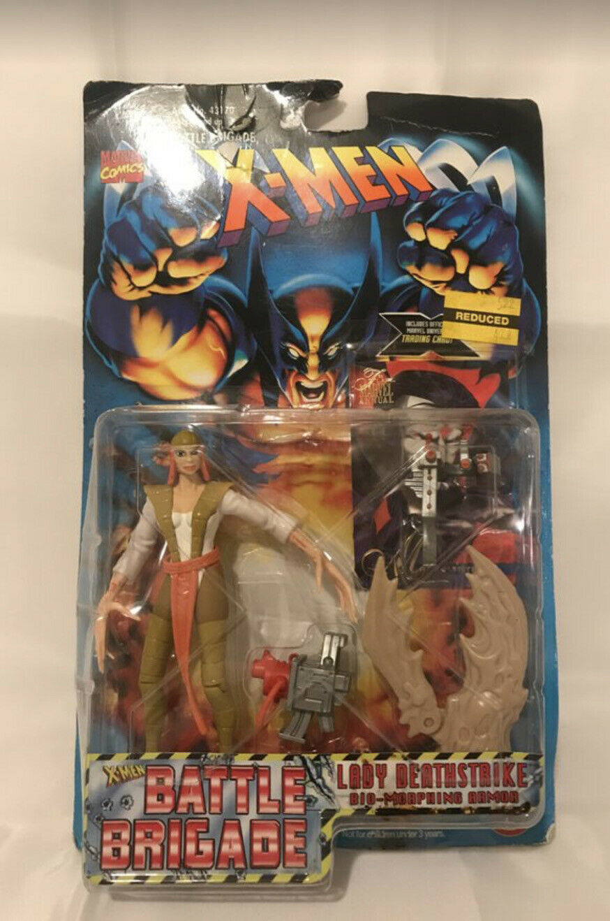 Toy Biz Lady Deathstrike X-Men Battle Brigade figure 1996 neuf scellé