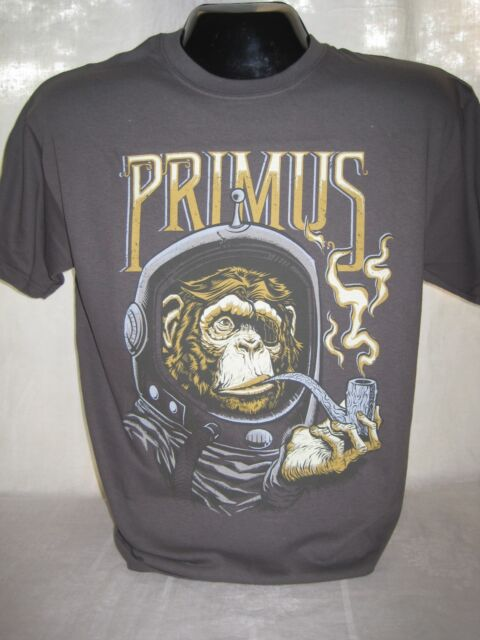 Primus Monkey in Top Hat M L XL Coal T-Shirt