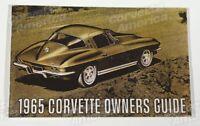 1965 Corvette Owner's Manual