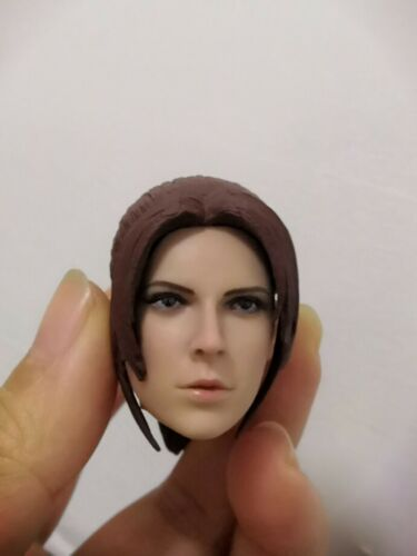 1//6 Claire Redfield Head Sculpt PVC Girl Head Model 12inches Figure Head Toys