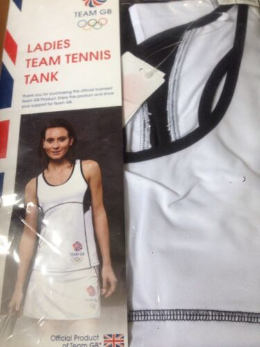 Ladies Team GB Tennis tank vest Medium 8 10 new