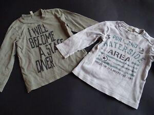 BENETTON  Zwei coole BOYS LG Shirts Gr.92