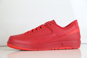 new arrival 11362 90723 Details about Men Air Jordan 2 Retro Low Gym Red Laces Basketball Shoe Size  9.5 New Authentic