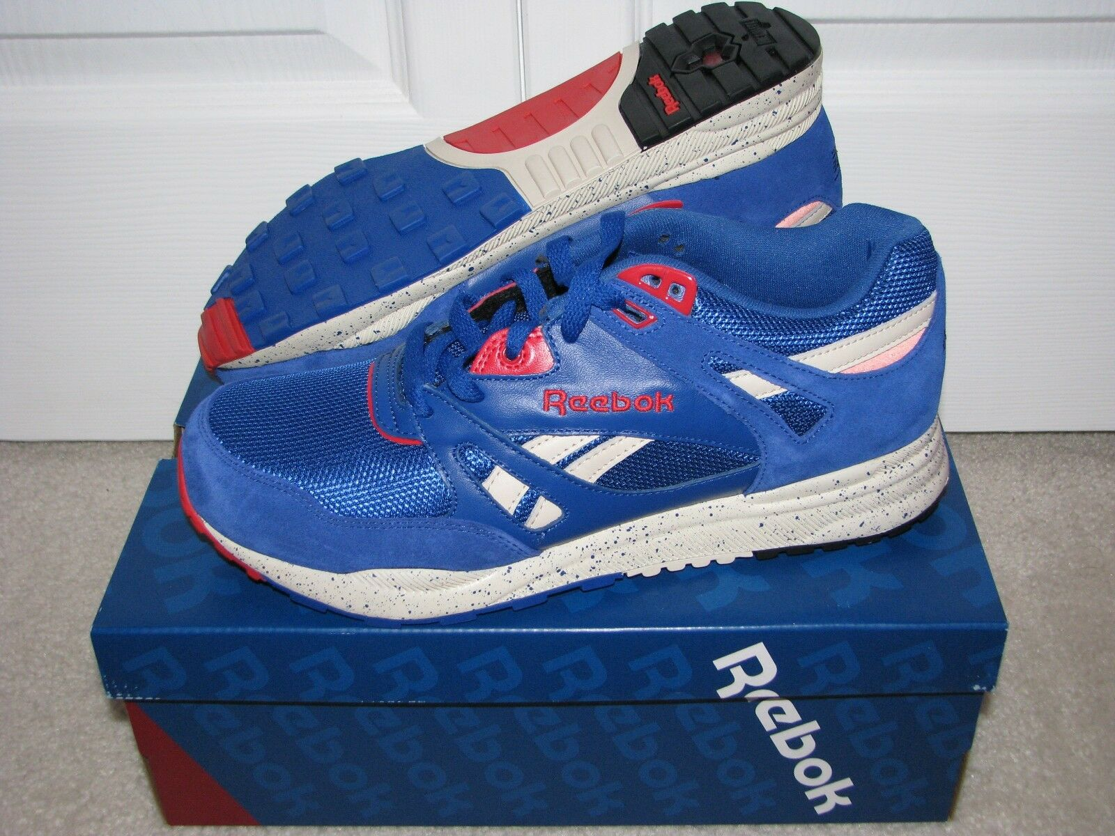 Reebok Classic VENTILATOR Royal Paperwhite Red Mens Size 9.5 DS NEW IN BOX