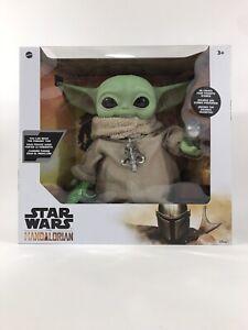 Mandalorian-The-Child-Baby-Yoda-Star-Wars-11-034-Doll-Mattel-With-4-Accessories-NIB