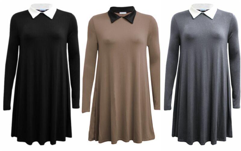 Luxury Womens Girls A Line Viscose Swing Dress Christmas Tank Tops Free Pp Elegant In Smell