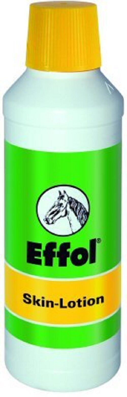 Effol skin lotion 500ml contains oils and panthenol calming effect on itchy skin