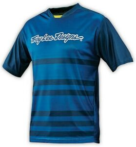 Troy-Lee-Designs-Skyline-Short-Sleeve-Jersey-Divided-Dirty-Blue-Small