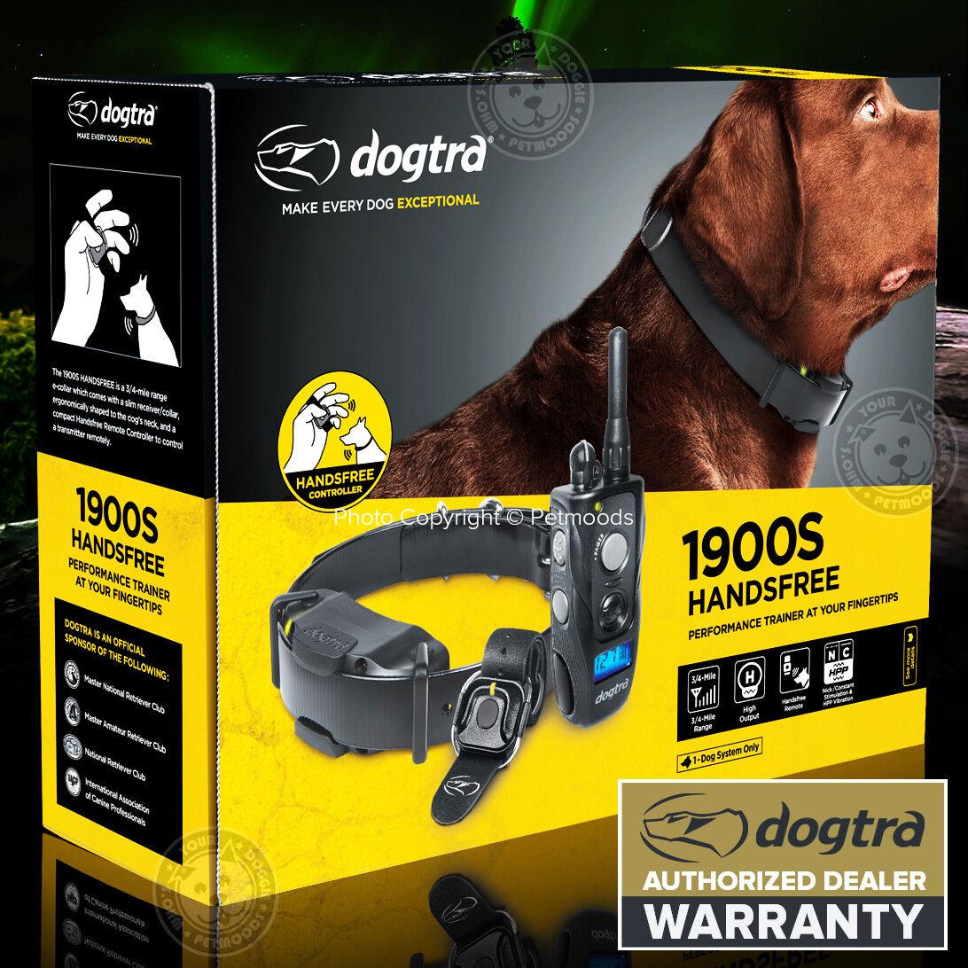 Dogtra 1900S HANDSFREE Stubborn Remote Dog Trainer ECollar 34 Mile Waterproof