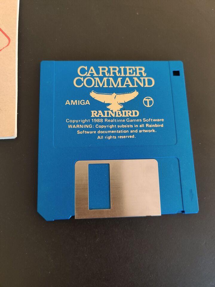 Carrier command, Amiga