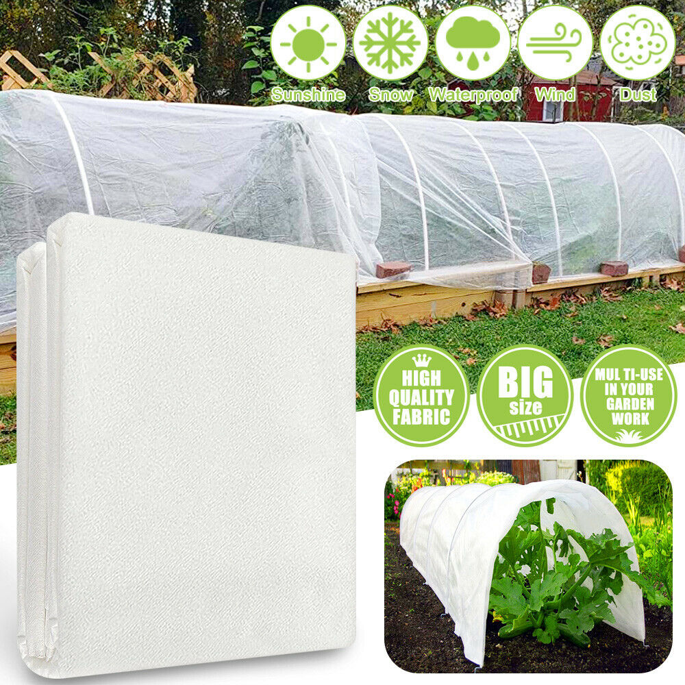 3x15m Heavy Duty Frost Fleece Plant Protection Garden Cover Warmth Cover Cloth