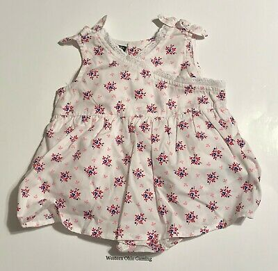 Faded Glory Girl/'s 3-6 M One-Piece Dress NEW Infant Baby Newborn 3-6 Months