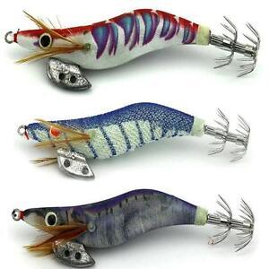 10cm-2-5-Soft-Shrimp-Prawn-Worm-Bait-Lure-Saltwater-Squid-Fishing-Rigs-Glow-T