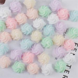 10-pcs-Resin-Flatback-Cabochons-14x10mm-Mixed-Cream-Design-Crafts-Accessories