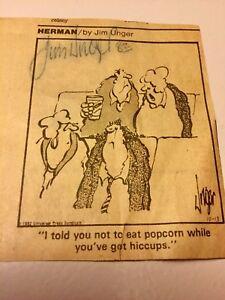 Autographed-Jim-Unger-Herman-Cartoon