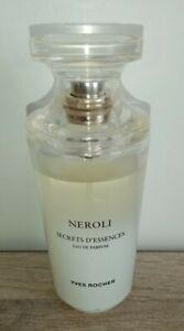 Détails sur Parfum secret d essence néroli. Eau de parfum yves rocher