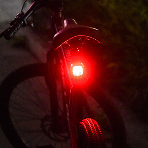 5 Modes LED Bike Tail Light USB Rechargeable Cycling Bicycle Safety Warning Lamp