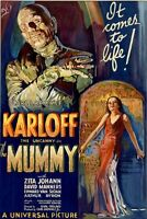 Universal Monsters: The Mummy 24 X 36 Movie Poster - Boris Karloff