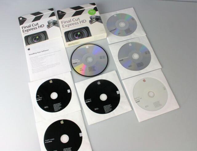 Apple Final Cut Express HD 3.5 - Full Version for Mac 479J512HERSTNRMA261DA  for sale online | eBay