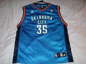 c5b9e4784 Kevin Durant 35 Oklahoma City Thunder NBA adidas Blue Jersey Boys ...