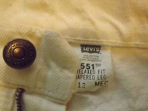 LEVIS-551-TAPERED-FIT-W28-034-L30-034-ORIGINAL-124N