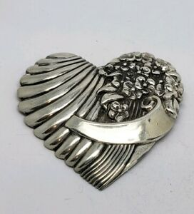 Signed Truart Sterling Silver Brooch Pin 3 Vintage Jewelry Truart Sterling