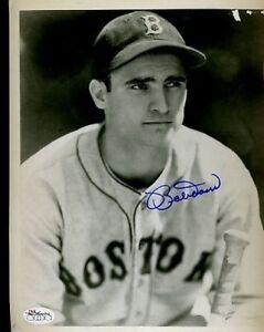 Bobby-Doerr-Signed-Jsa-Cert-Sticker-8x10-Photo-Authentic-Autograph