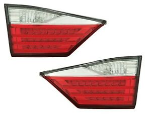LEXUS ES350 ES300h 2013-2015 LEFT DRIVER INNER TAILLIGHT TAIL LIGHT TRUNK LID