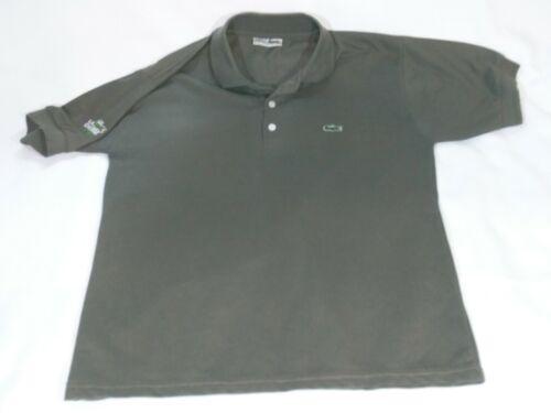 Vintage Lacoste La Chemise Men's Polo Shirt L Brow