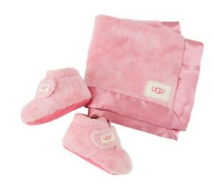 c2727ac7ac7 Details about NEW 2019 CRIB BABY INFANT UGG BIXBEE AND LOVEY BUBBLE GUM  PINK ORIGINAL 1094823I