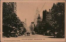 P2802 Melbourne, Victoria. Collins Street. Australasia
