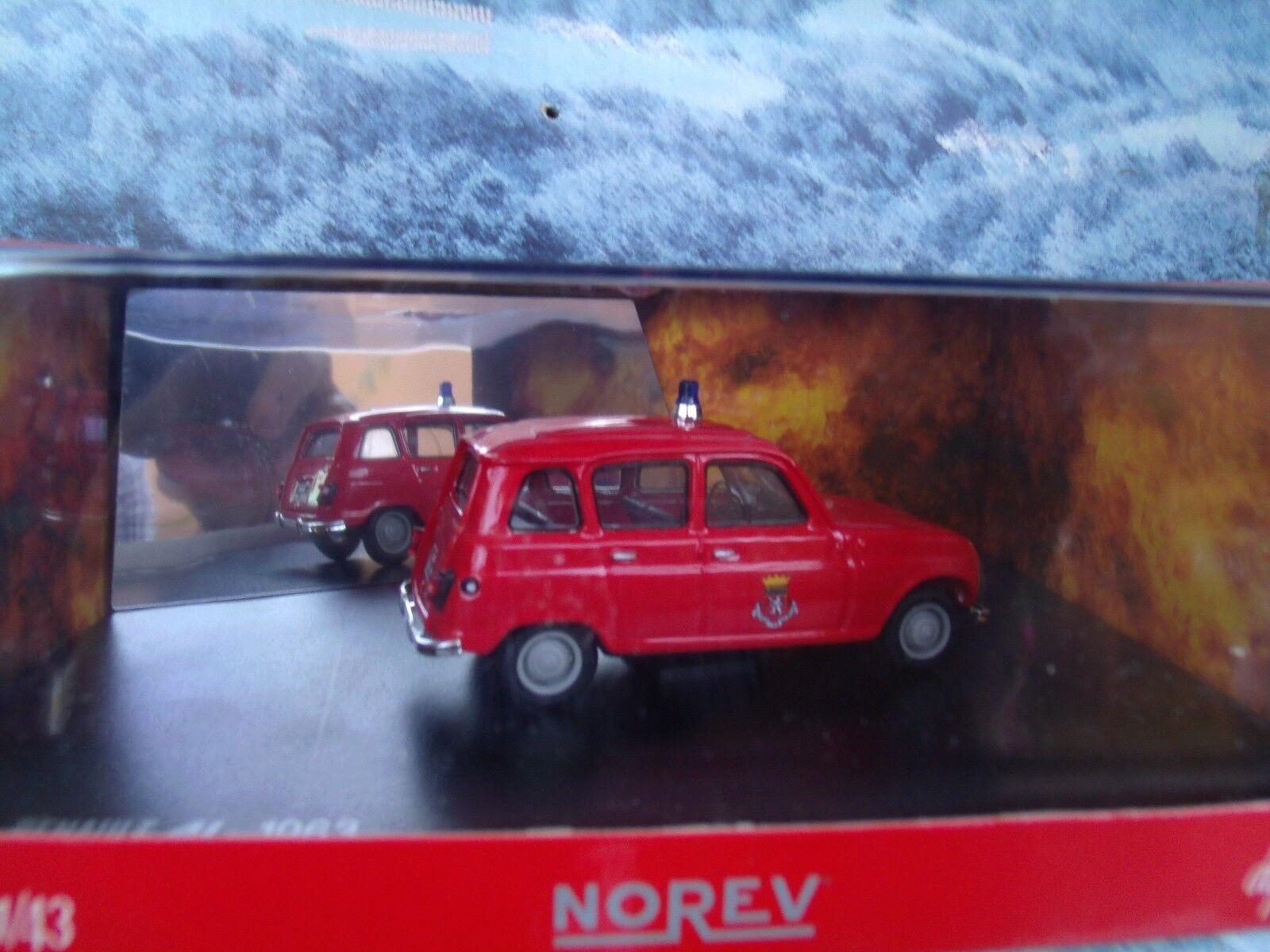 1 43  Norev   Renault 4L 1963 Fire