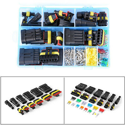 Car 1-6 Pin Way Electric Wire Waterproof Plug Connector Fuse Removal/_W TDO