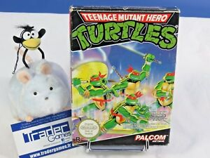 Teenage-Mutant-Hero-Turtles-Nintendo-Nes-Pal-FRA-Complet-tres-bon-etat