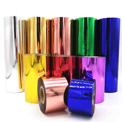5M Hot Stamping Foil Multicolor 1 Roll Paper Holographic Heat Transfer DIY Craft