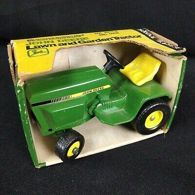 Ertl Toys John Deere Lawn Mower Garden Tractor 591 Usa Made Vintage New In Box Ebay