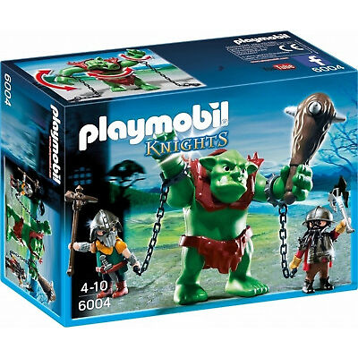 Playmobil Knights 6004 Giant Troll with Dwarf Fighters