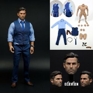 """1//6 Scale Male Clothes Blue T-shirt For 12/"""" Action Figure Body Modle Hot Toys"""