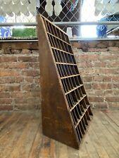 Vintage Hamilton Wood Type Printing Furniture Cabinet