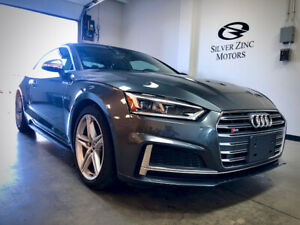2018 Audi S5 Coupe Massage seats Carbon Inlay Navi Fact.Warranty