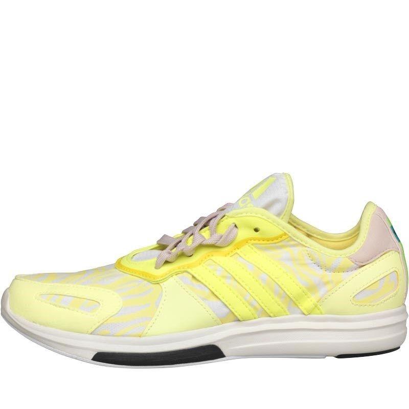 Adidas STELLASPORT Yvori Studio Training shoes,Yellow White, BNIB