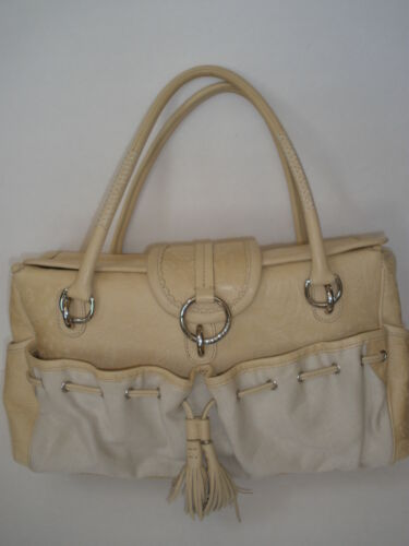 GORGEOUS EILEEN  WEST LEATHER FABRIC  SHOULDER  BA