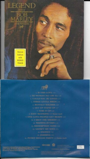 CD 16T LEGEND THE BEST BOB MARLEY AND THE WAILERS DELUXE EDITION Made in India