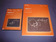 Teaching Co Great Courses      DVDs + Workbook   ALGEBRA  I         brand new