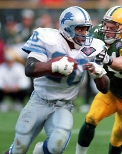 1994-Detroit-Lions-BARRY-SANDERS-Glossy-8x10-Photo-Print-Football-NFL-Poster
