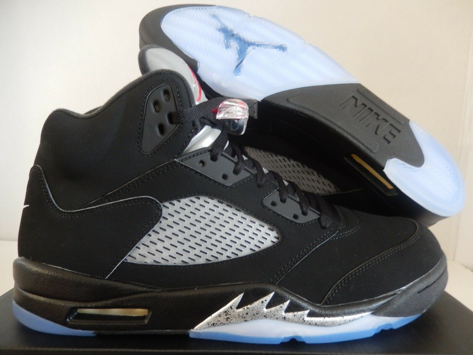 air jordan 5 retro og metallic silver